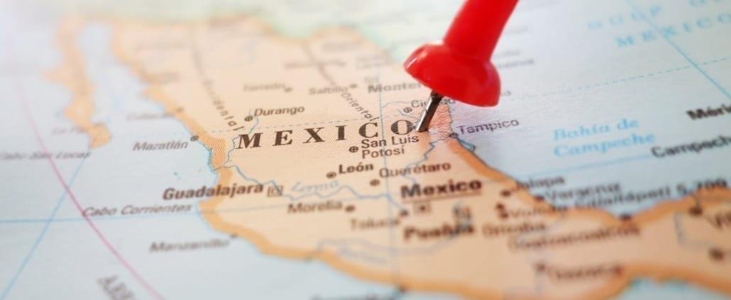 Der richtig Standort in Mexiko