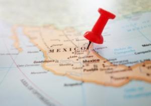 Mexiko - Landkarte
