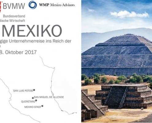 Neuntägige Unternehmensreise ins Reich der Azteken